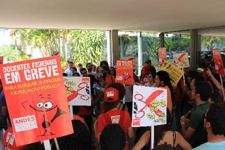 greve dos docentes federais completa 4 meses
